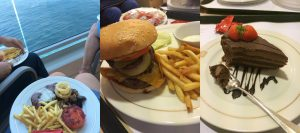 Cunard queen victoria room service food