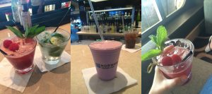 NCL Norwegian Getaway Ultimate Beverage Package Raspberry Mojito Milkshake