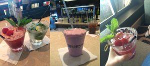 NCL Norwegian Getaway Ultimate Beverage Package Raspberry Mojito Milkshake