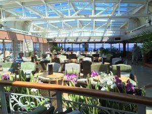 Cunard Queen Victoria Conservatory