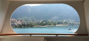Cunard Cruise View Montenegro Deck Window Balcony Queen Victoria