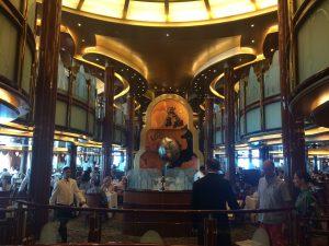 Cunard Queen Victoria Dining Room Restaurant