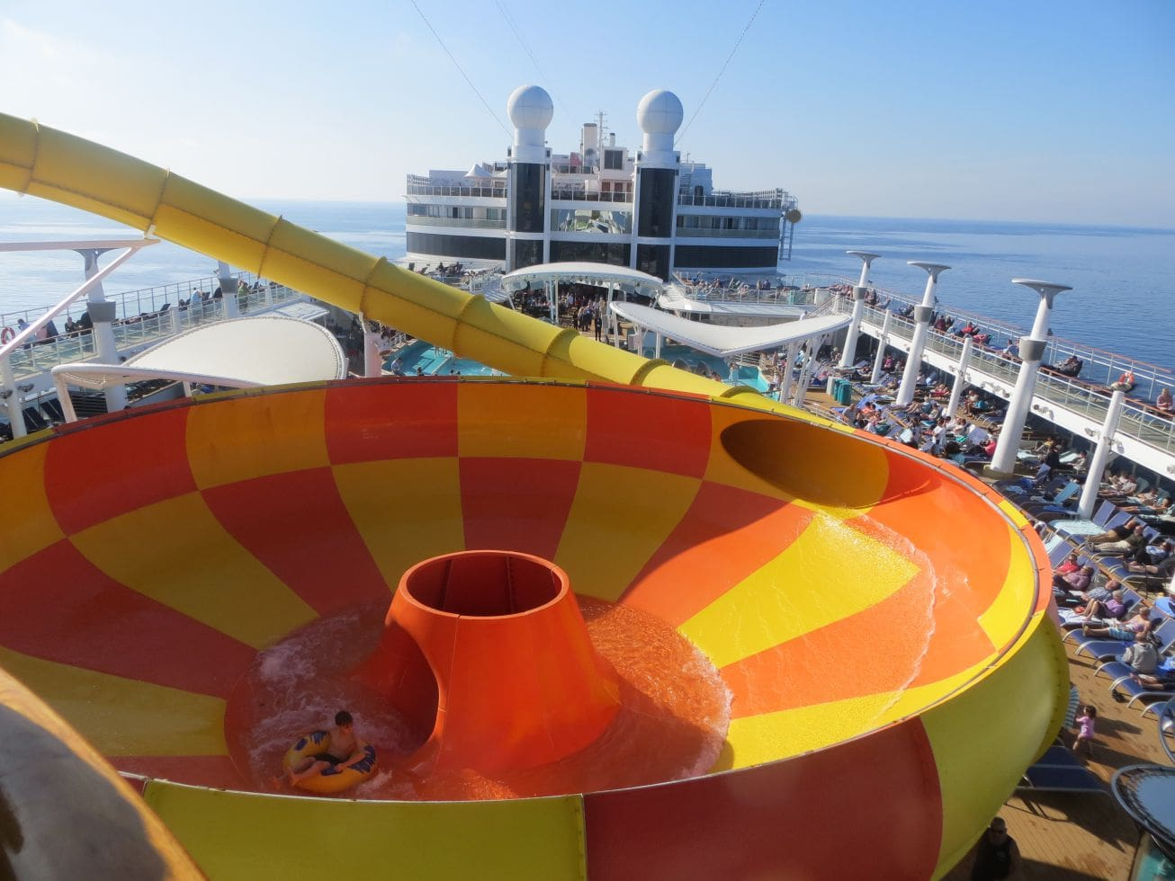 NCL Norwegian Epic Water Slide