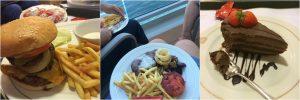 Cunard Queen Victoria Room Service Food Balcony
