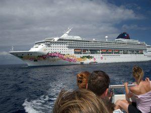 NCL Norwegian Cruise Line Pride of Aloha Tender Boat Lifeboat