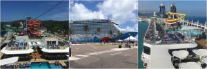 NCL Norwegian Cruise Line Ships Getaway Breakaway Epic Deck Slides Pools