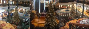 NCL Norwegian Spirt Atrium Christmas Tree