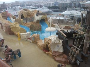 NCL Norwegian Spirt Kids Pool Wet and Wild
