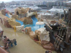 NCL Norwegian Spirt Kids Pool Wet and Wild