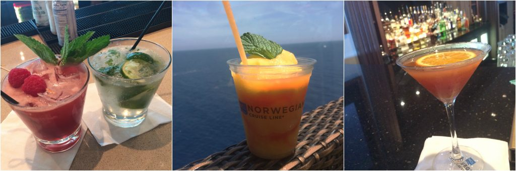 NCL Norwegian Getaway Ultimate Drinks Package