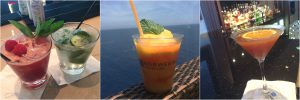 NCL Norwegian Cruise Line Ultimate Beverage Package Drinks Mojitos Mango Meltdown