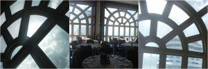 NCL Norwegian Spirit Glass Windows Restaurant
