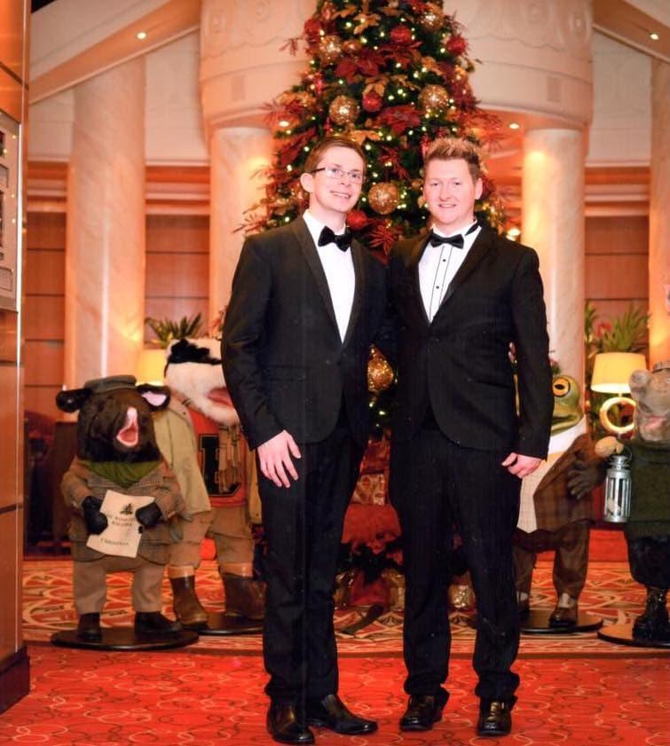 cunard dress code men suits bow tie