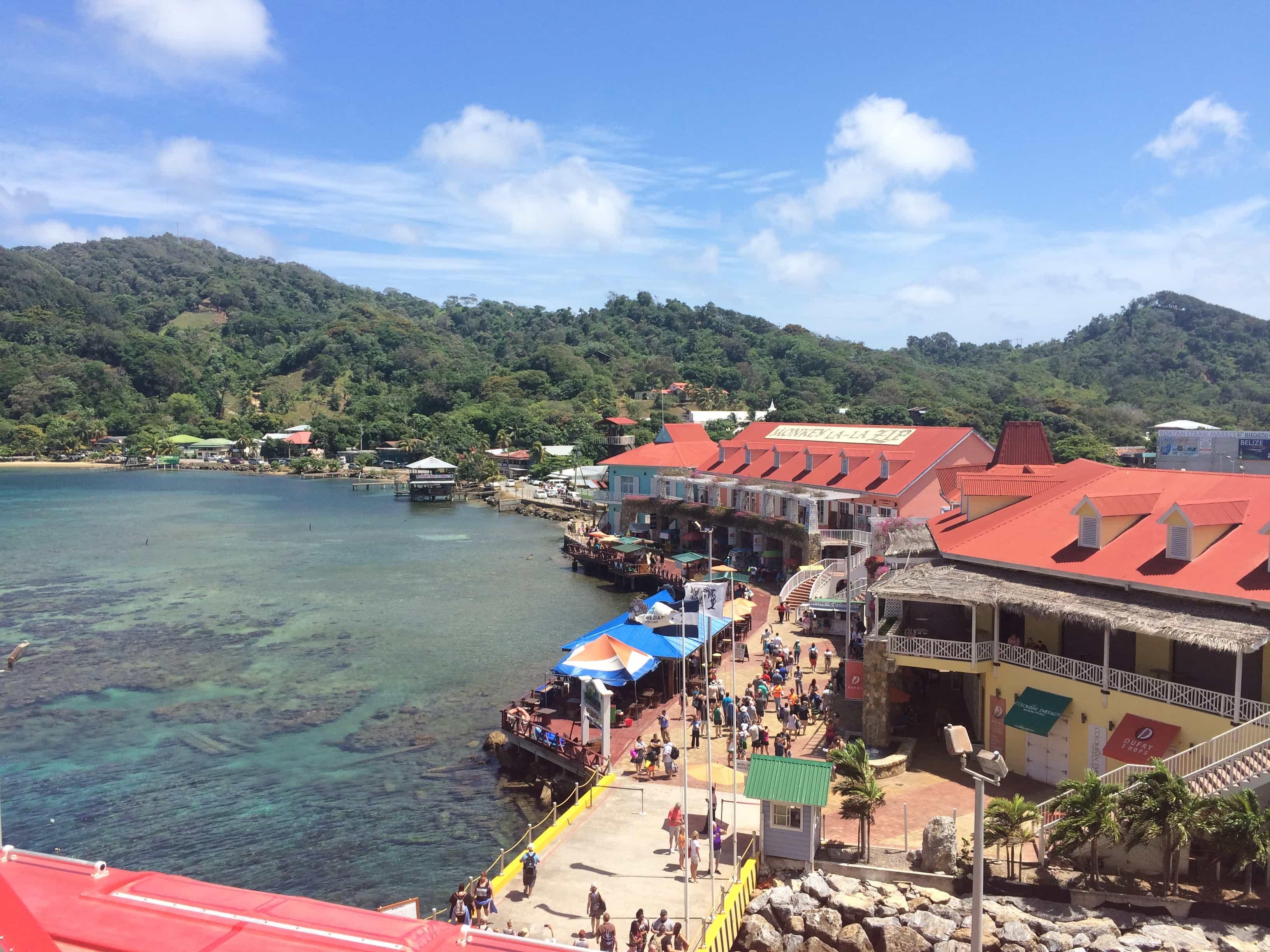 Honduras cruise without a passport