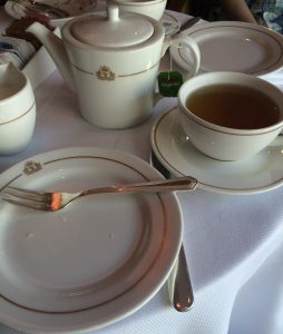 Cunard Queen Victoria Afternoon Tea Twinings