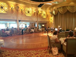 Cunard Queen Victoria Afternoon Tea Ballroom Dancing