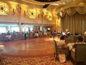 Cunard Queen Victoria Afternoon Tea Ballroom Dancing