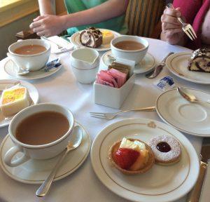 Cunard dress code - Queen Victoria afternoon tea