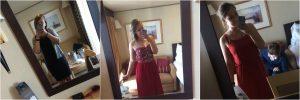 Cunard dress code - Formal Informal Night Girl in Dress