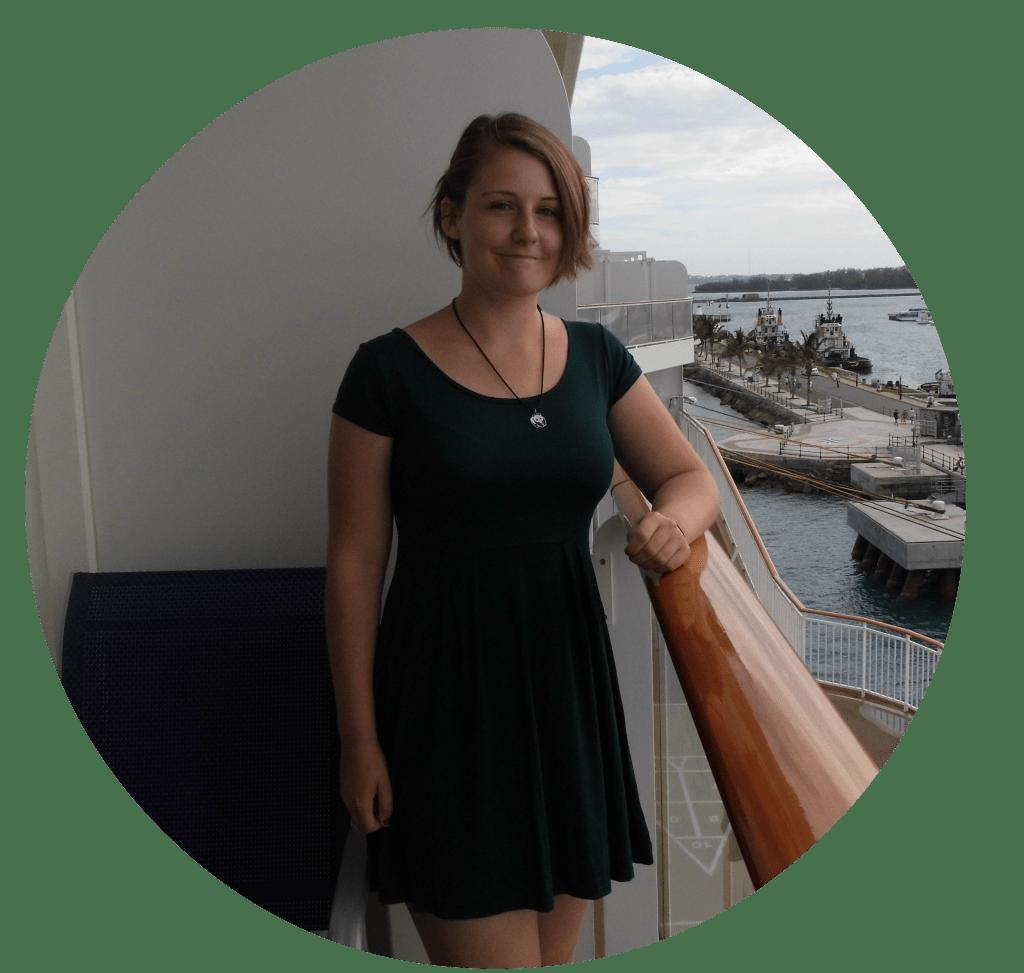 Girl dress norwegian breakway balcony