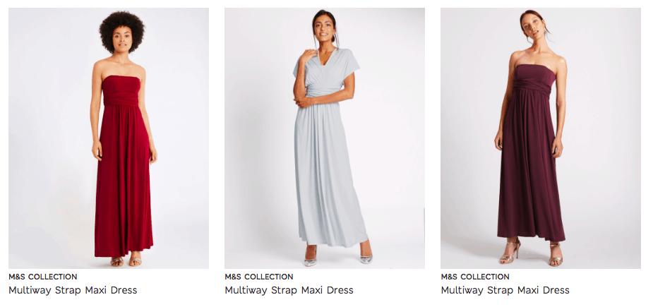 Cunard dress code maxi dresses m&S