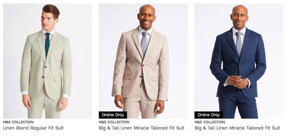 Cunard Dress Code light suits white cream blue