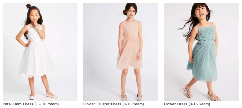 Cunard Dress Code Girls M&S Dresses