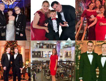 cunard dress code what to wear women men children bow tie dinner jacket suit maxi dress long midi tuxedo