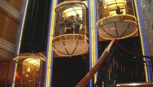 NCL Norwegian Spirit Atrium Lift Elevator