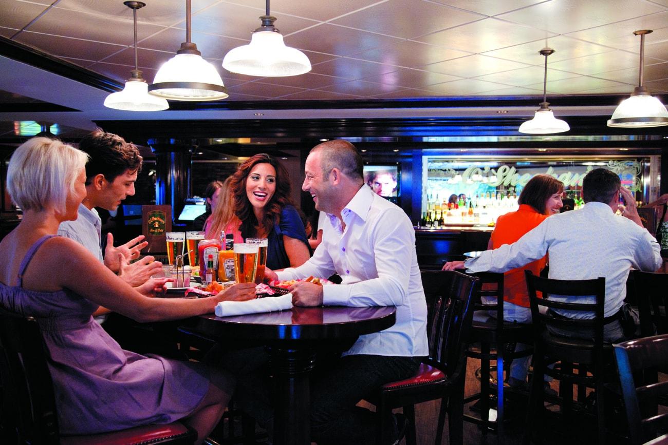 norwegian cruise line dining o'sheehans