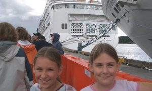 Cruising as a child - Norwegian Spirit Alaska