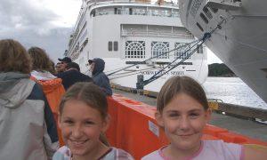 Cruising as a child - Norwegian Spirit Alaska