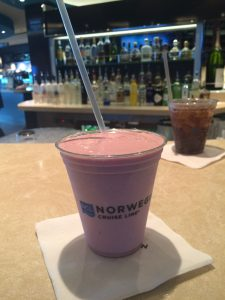 NCL Norwegian Getaway Milkshake