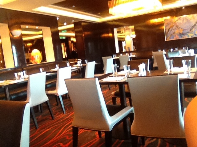 Taste restaurant on the norwegian breakaway