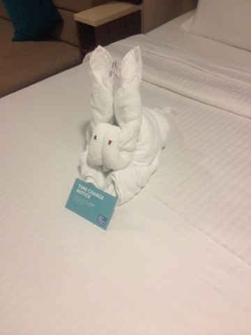 Norwegain Breakaway towel animal