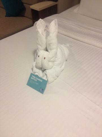 Norwegain Breakaway towel animal