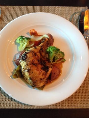 Norwegian Breakaway chicken