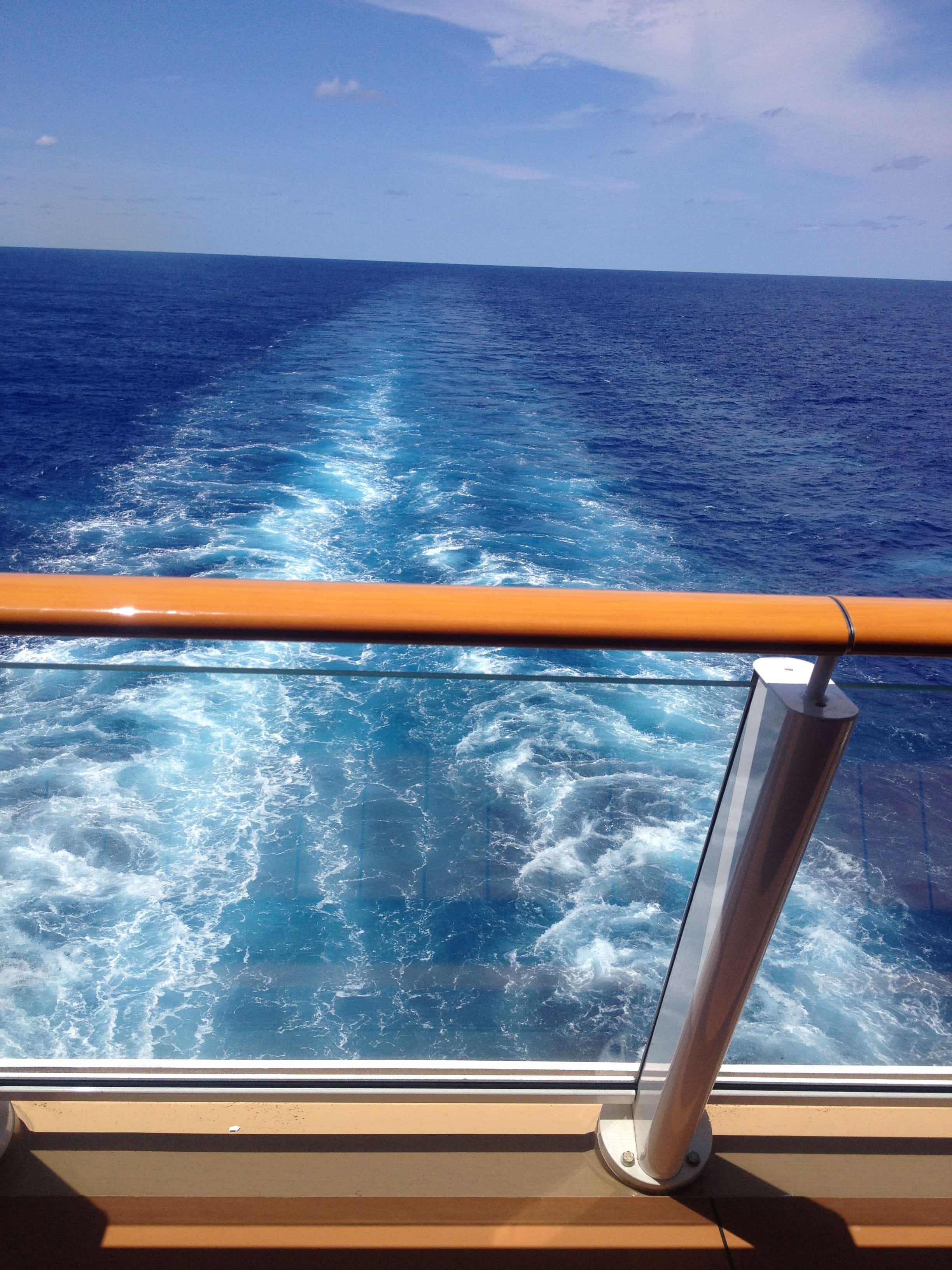 Norwegian breakaway view