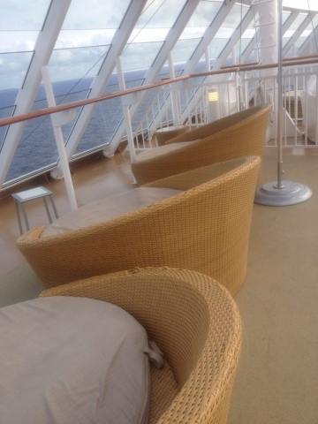 Nowegian Breakaway Deck big seats