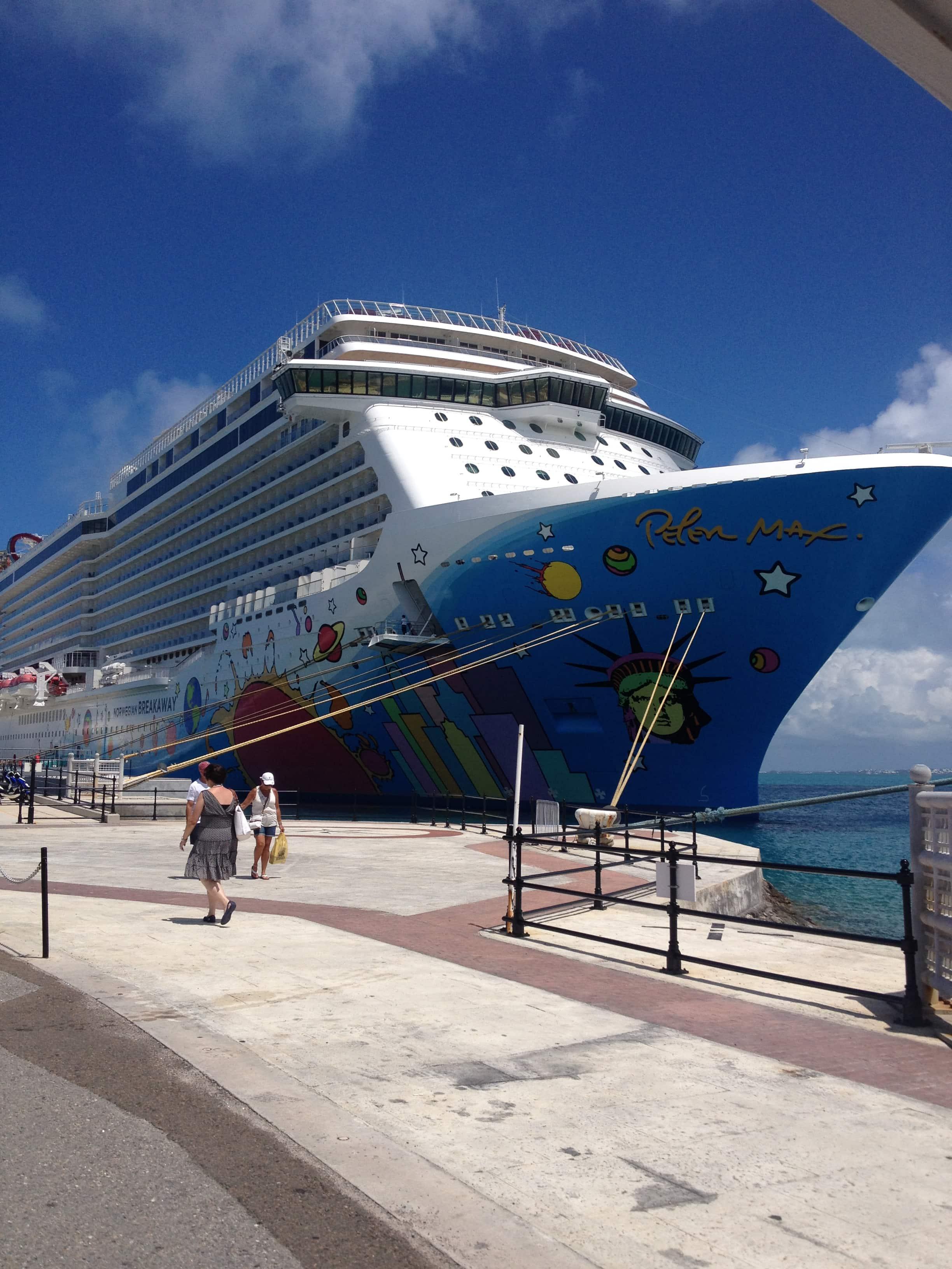 Norwegian Breakaway ship