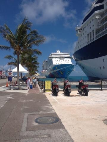 Norwegian Breakaway ship Bermuda