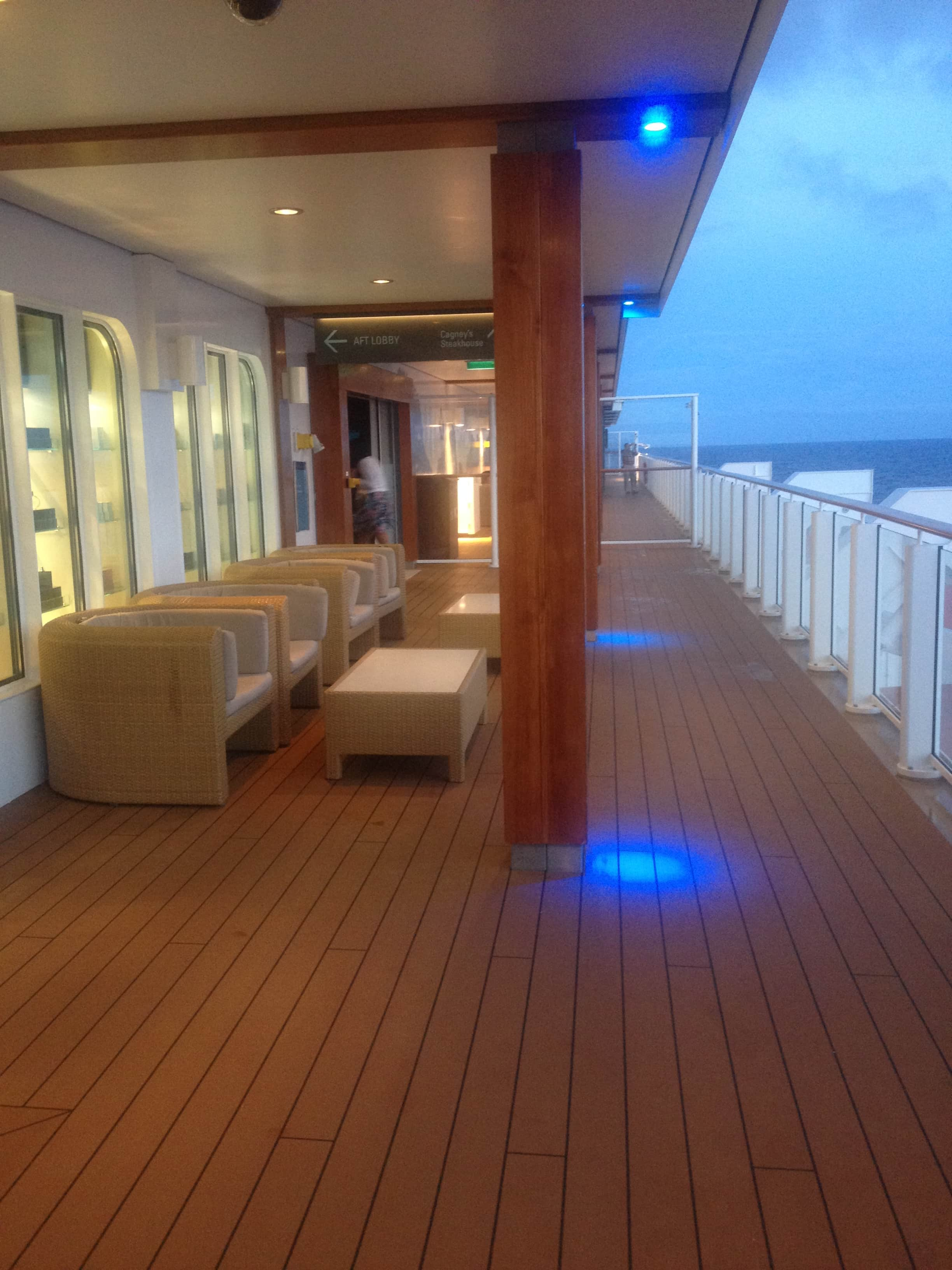 Norwegian Breakaway waterfront