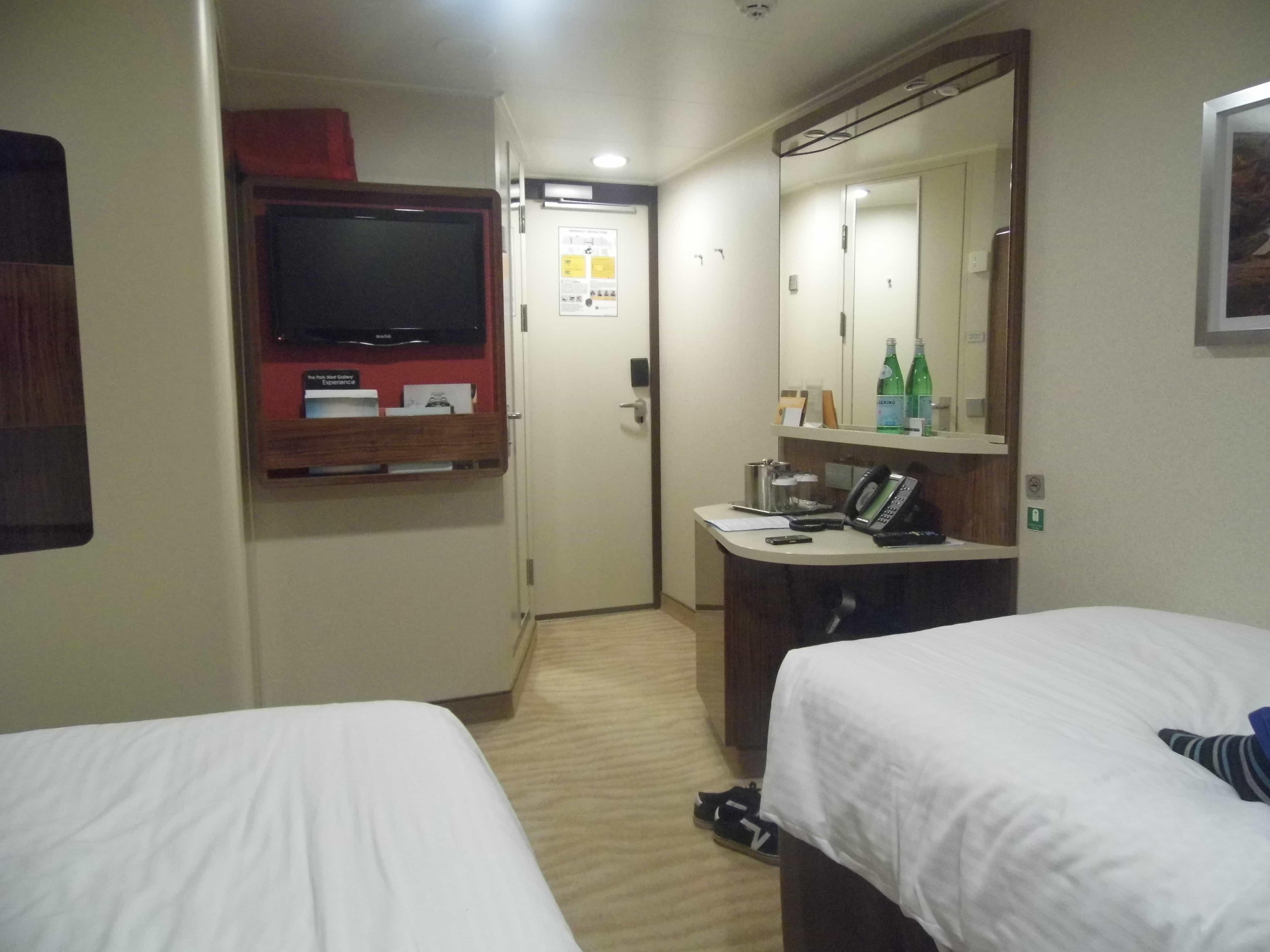 NCL breakaway inside cabin