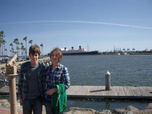 california queen mary ship sea
