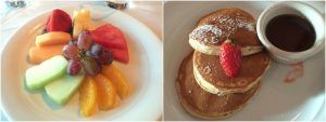 NCL Norwegian getaway food fruit pancakes cruise line