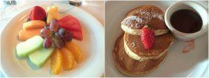 NCL Norwegian getaway food fruit pancakes cruise line