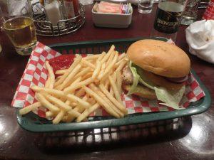 Cruising isn't just for old people food burger chips ncl norwegian getaway norgwegian breakaway cider o'sheehans