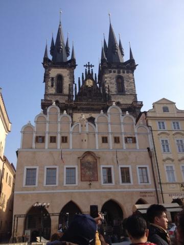 Prague Czech Republic Old Town Square