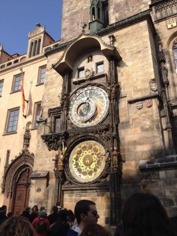 Czech Republic Prague Old Town Square Astronomical Clock