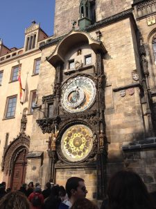 Prague Czech Republic Old Town Square Astronomical Clock